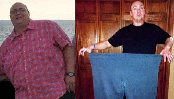 Determined dieter loses 150 pounds in 10 months on his own