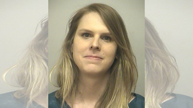 The Kansas City Police Department said April J. Foster, 29, was arrested March 12, in the 9200 block of Ward Parkway. She was arrested for abuse of a police service animal. (KCPD)