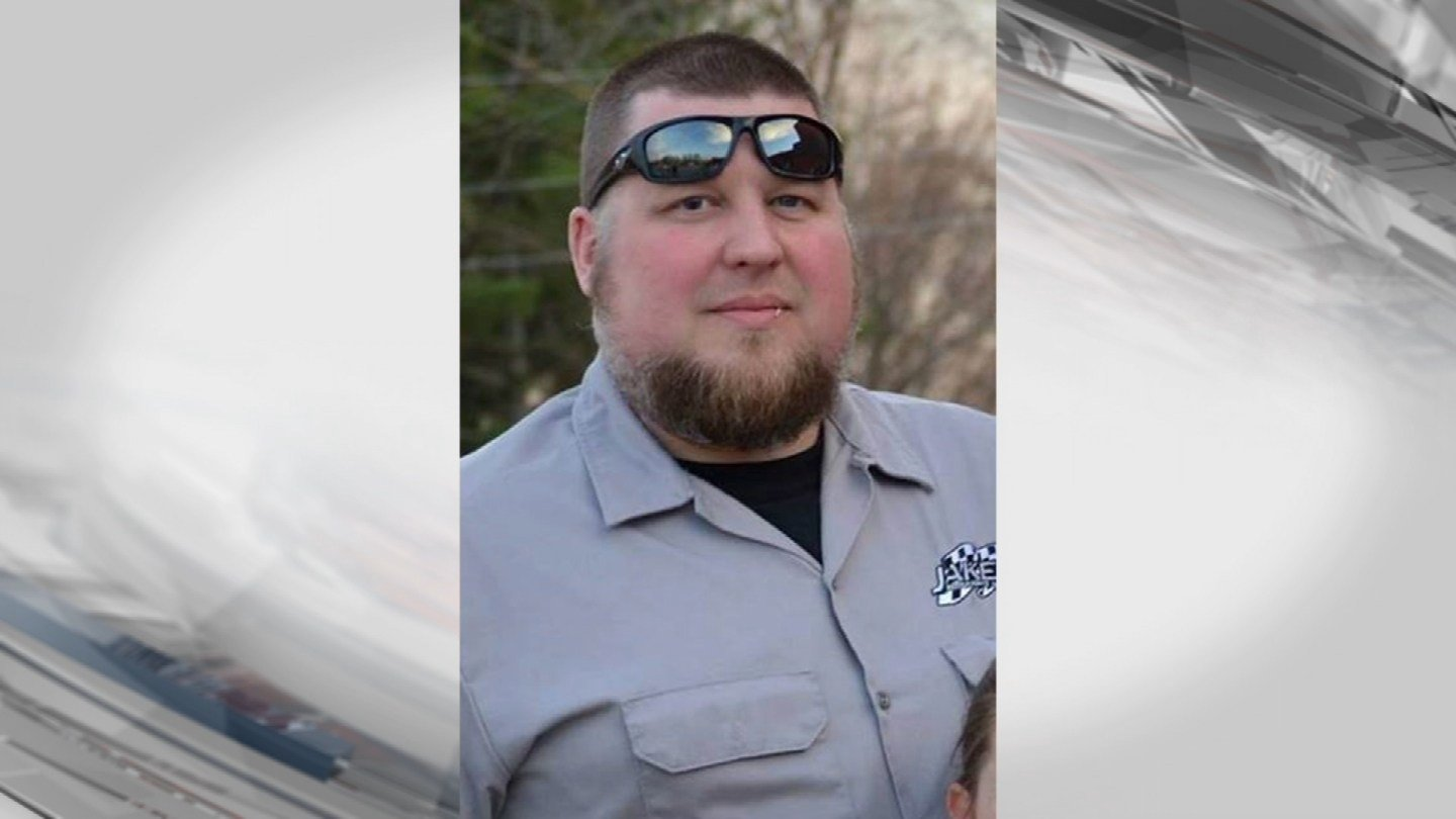 Jake Brantner, 39, was killed about 8:30 p.m. Sunday. His 10-year-old daughter saw the whole thing happen. (Submitted)