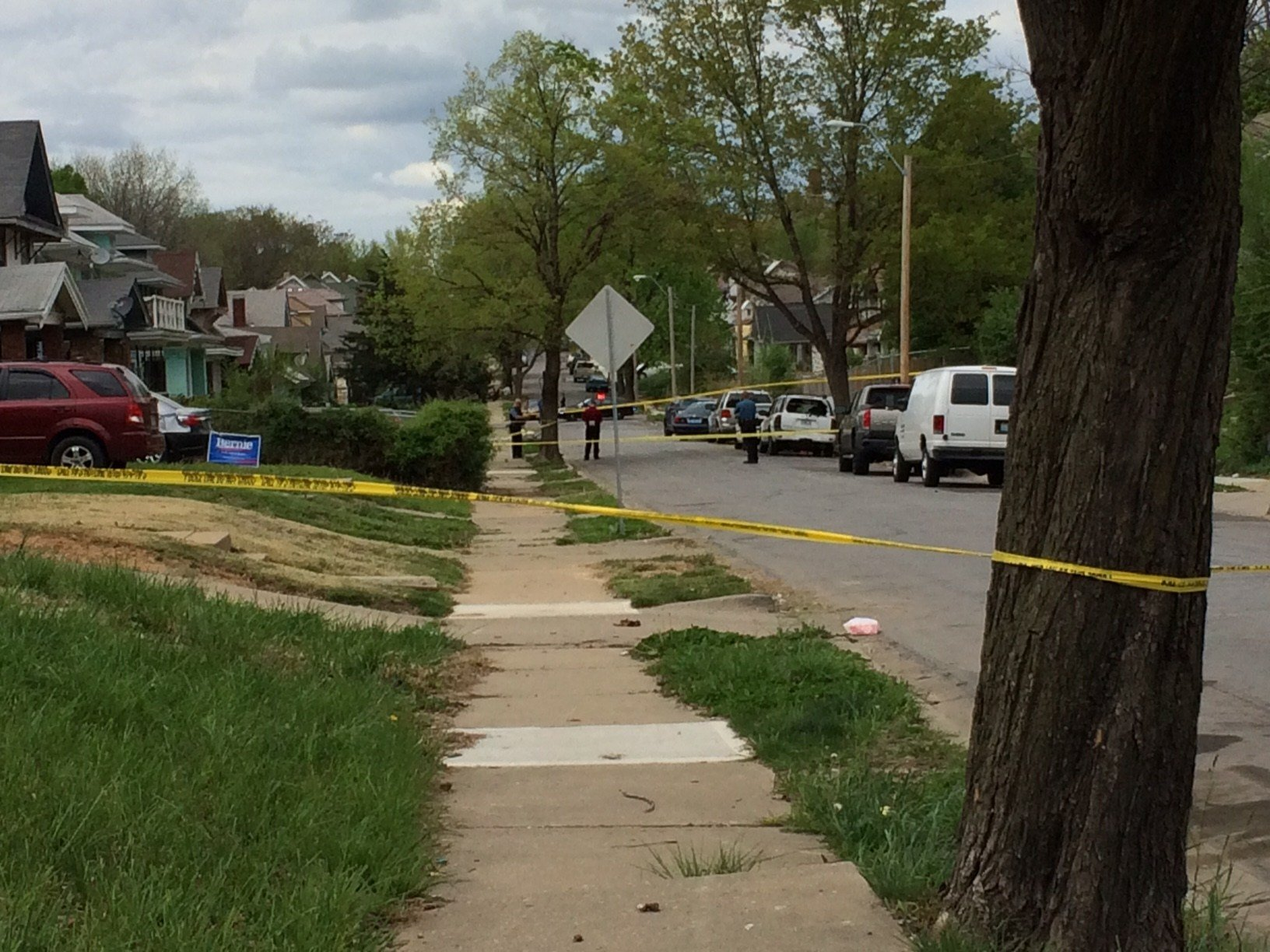 Police Looking For Suspect Following Shooting At 38th