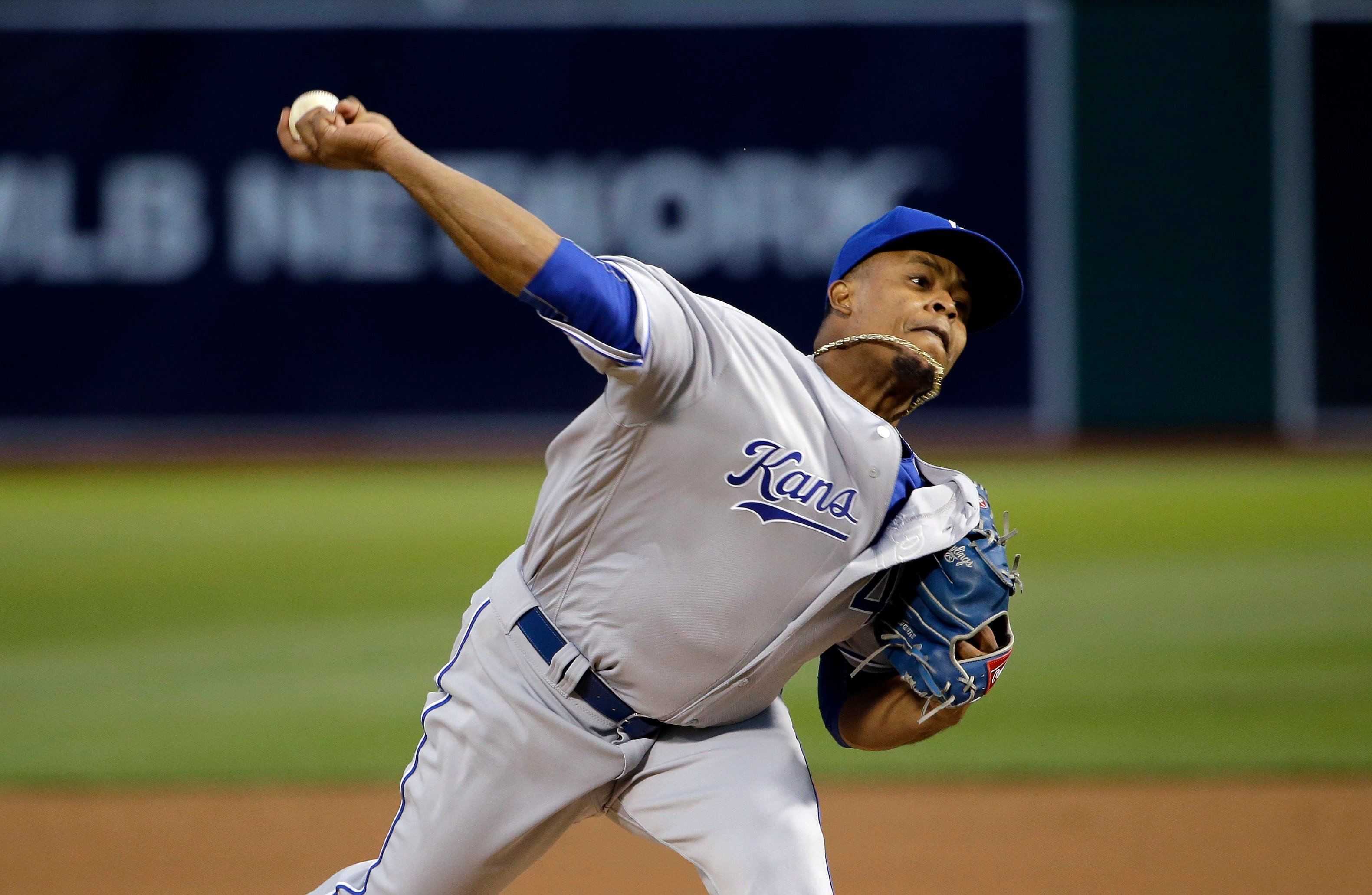 Right-hander Edinson Volquez has finalized a $22 million, two-year contract with the Miami Marlins after passing his physical. (AP)