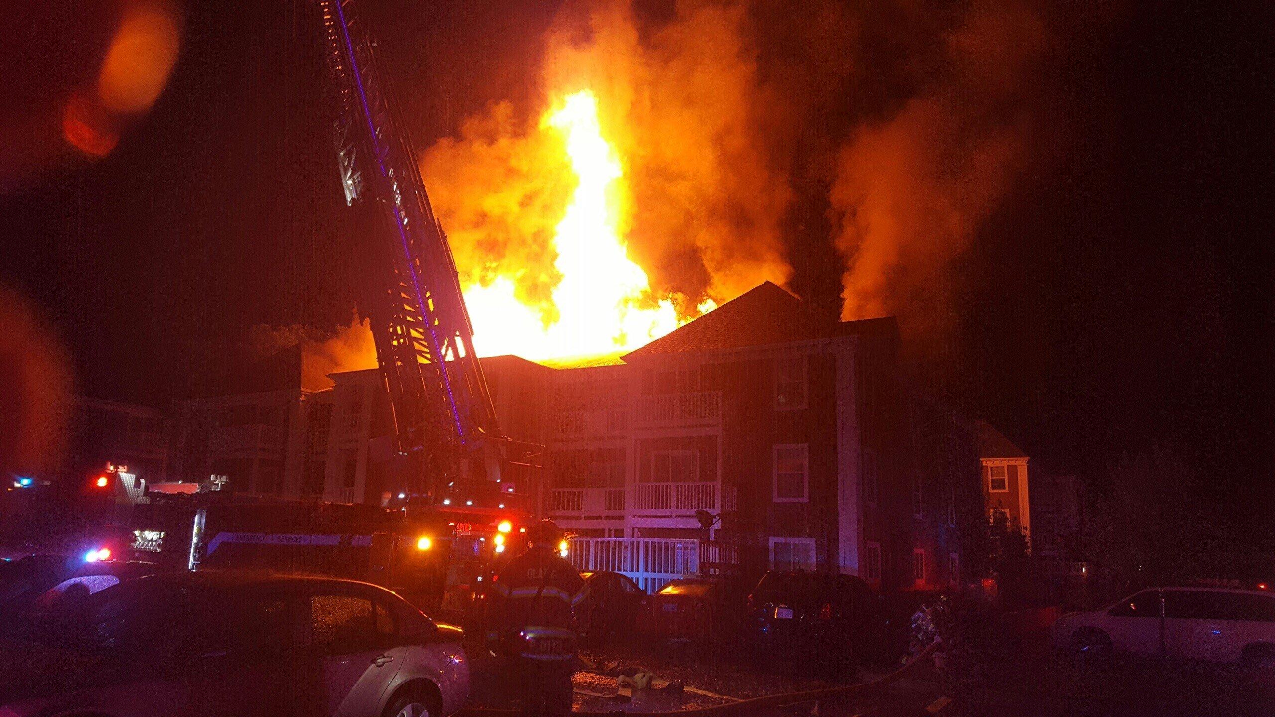 Park Edge Apartment Fire
