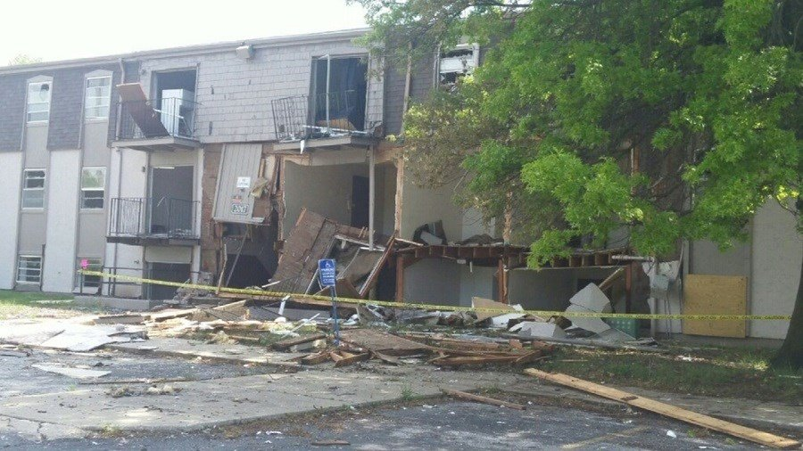 A natural gas explosion lead to $250k worth of damage. (KCTV5)