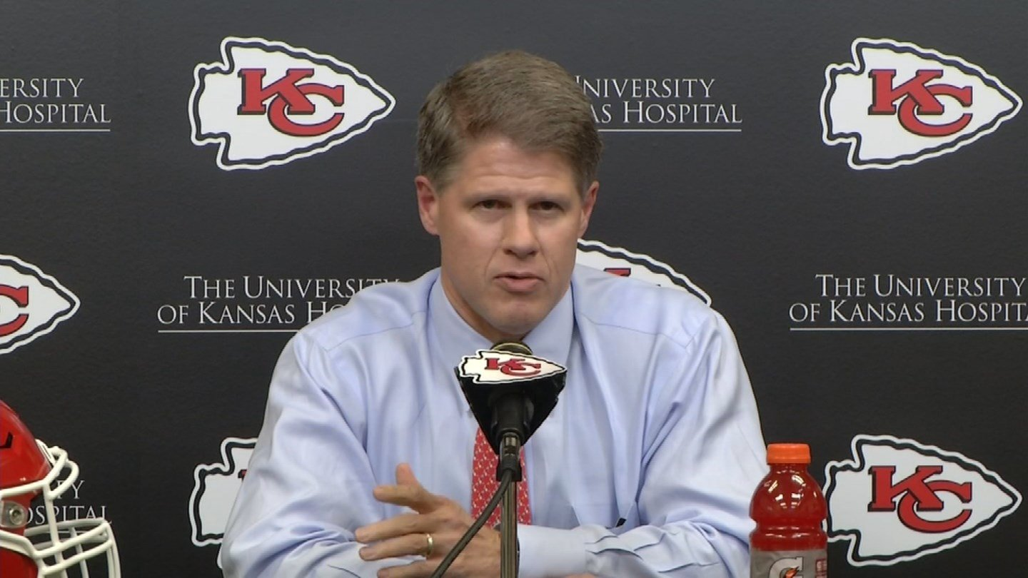 Chiefs CEO Clark Hunt said he is confident in John Dorsey and Andy Reid's decision to trade the first round draft pick for additional picks in later rounds. (Source: KCTV)