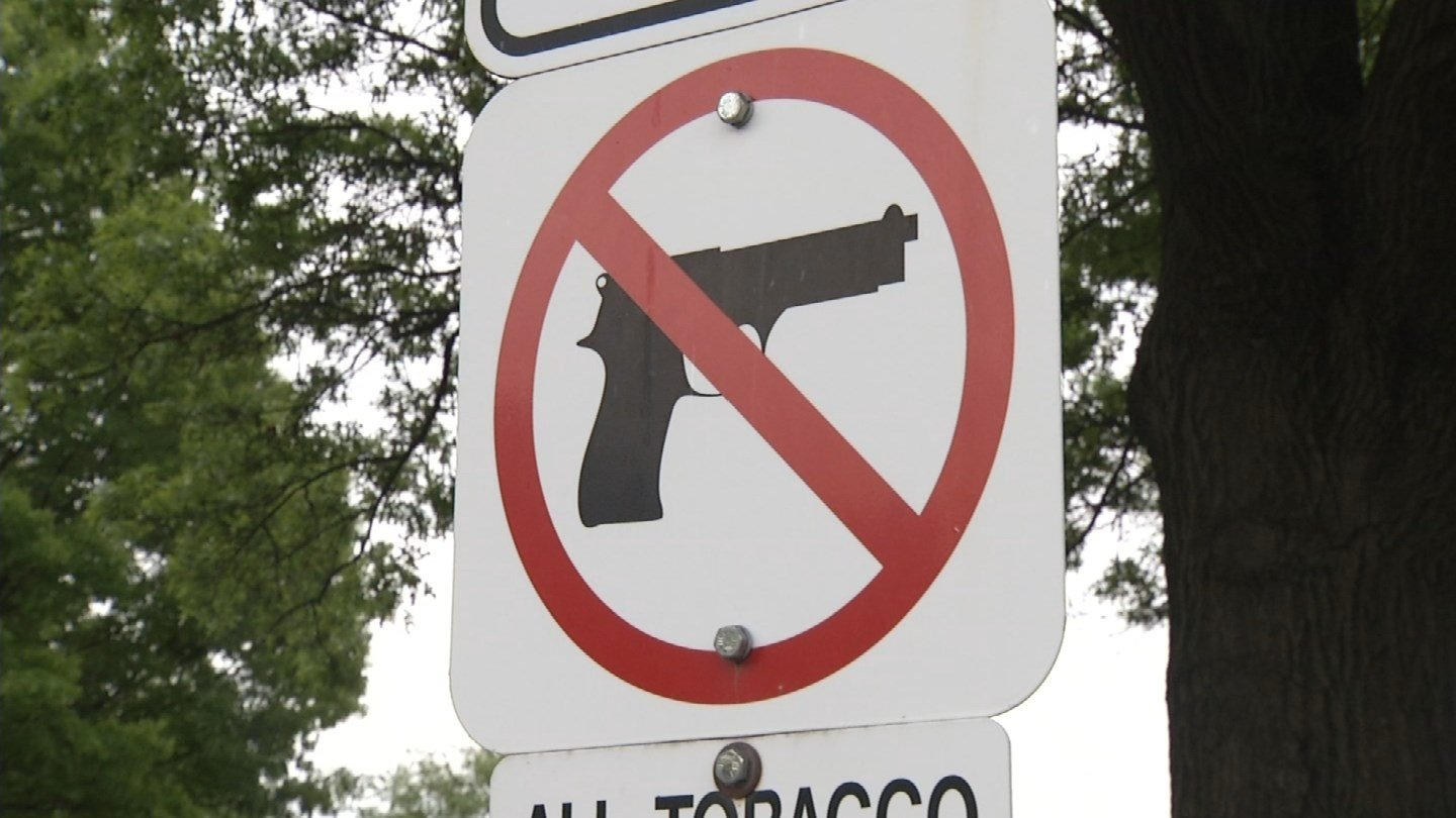 The gun-rights group called the proposed exemptions too sweeping. (File photo. KCTV5)
