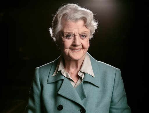 "(Photo by Casey Curry/Invision/AP, File). FILE - In this Dec. 5, 2014 filephoto, Angela Lansbury poses for a portrait during press day for ""The Blythe Spirit"" at the Ahmanson Theatre in Los Angeles. Lansbury will serve as a presenter for this year's To..."