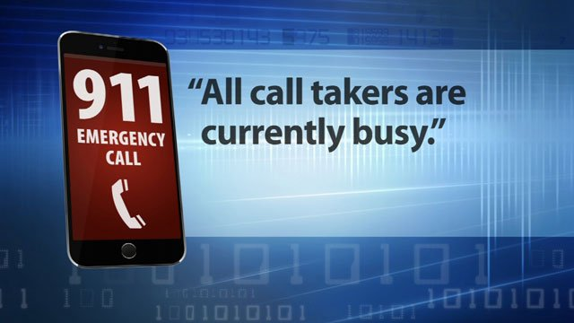 KCTV5 News investigated 911 hold times after multiple viewers complained they called for help and got a message instead of a live person. (KCTV5)