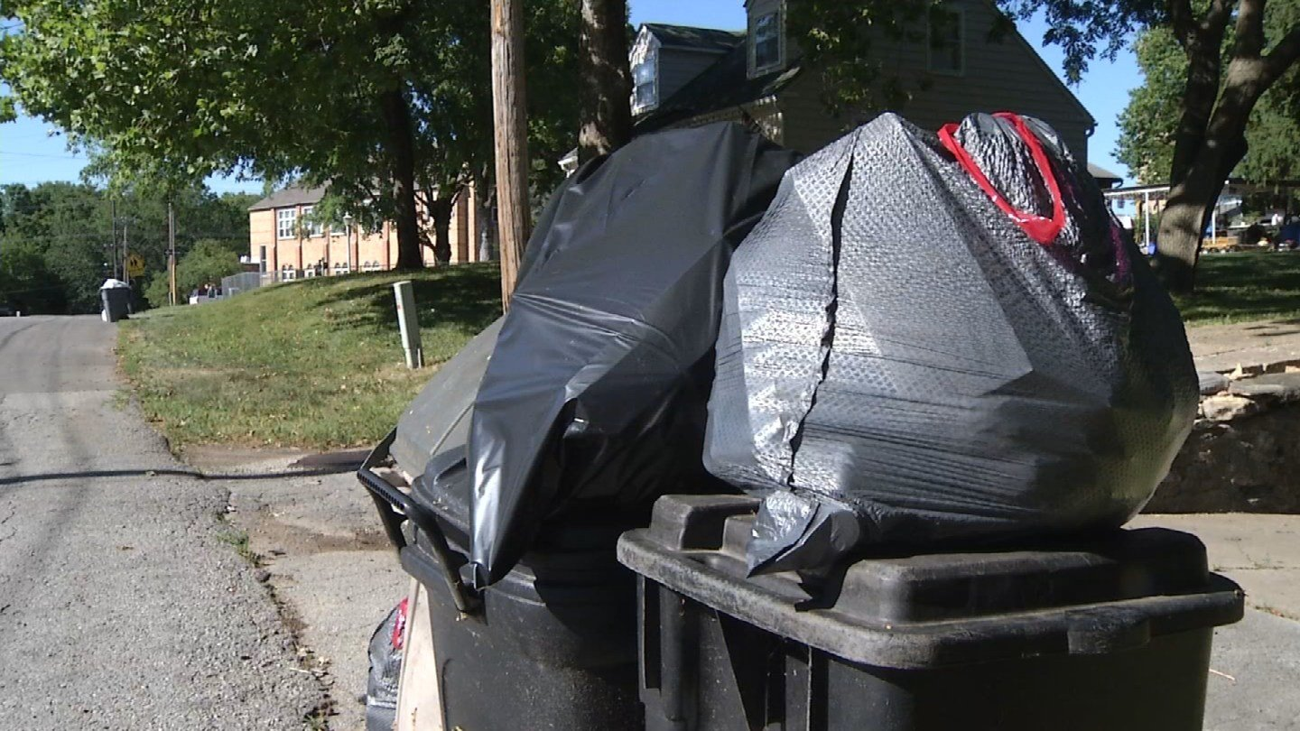 Prairie Village city officials say they are aware of delays and issues related to trash and recycling pickup. (KCTV5)
