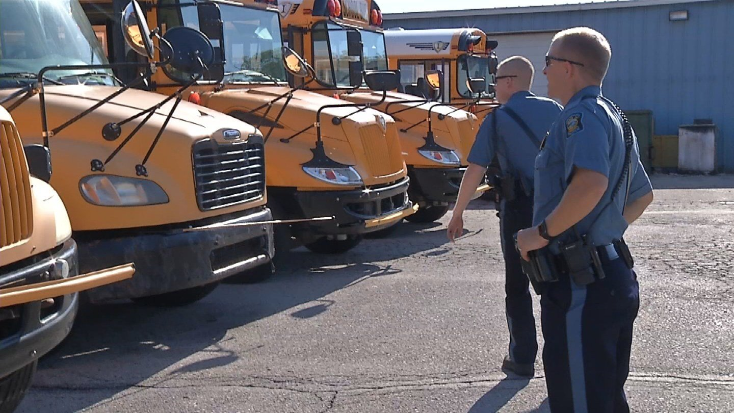 According to the Kansas Department of Transportation, more than 2,600 wrecks happened from 2004-2014 involving school buses in Kansas. (KCTV5)