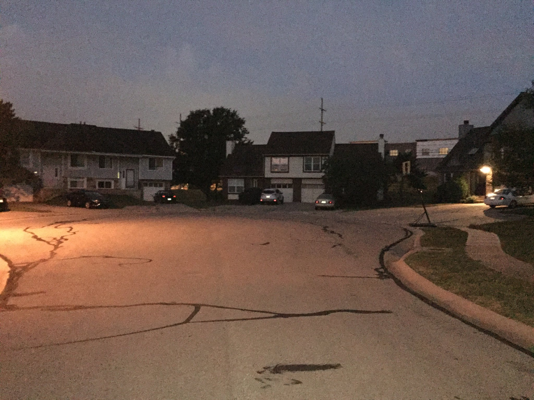 According to police, someone ransacked more than 20 vehicles in the Barrington Park subdivision.  (Michael Ross/KCTV)