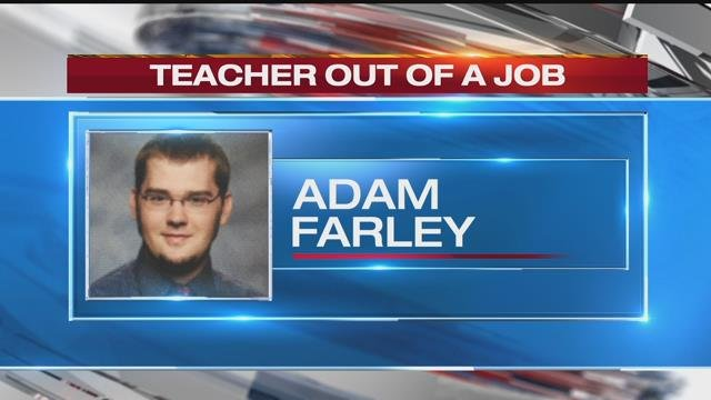 A district spokesperson told KCTV5 the teacher's name is Adam Farley, who was a band director at the school.(KCTV5)