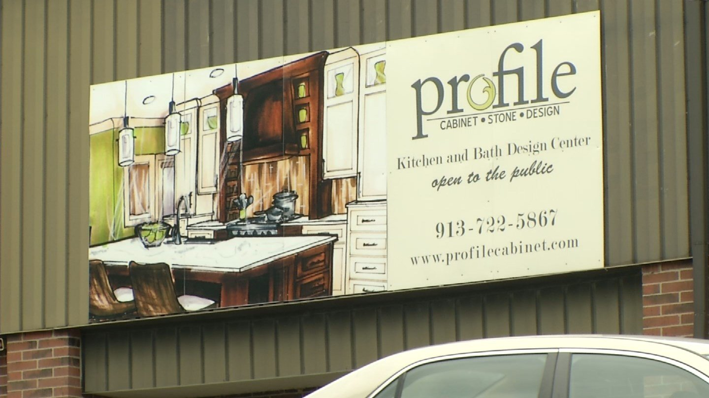 The lawsuit accuses Profile Cabinet and Design of firing Brandon Fitzpatrick and Theopilis Bryant, two black employees, for falsifyinga time card.(KCTV5)
