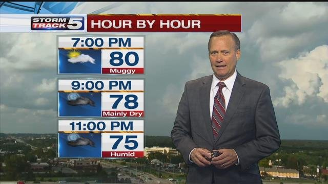 Gary Amble has your StormTrack 5 forecast