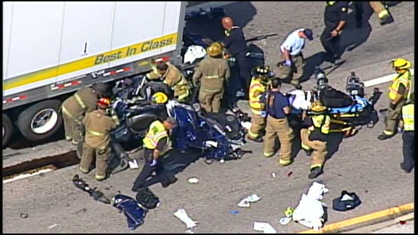 Troopers: 2 injured in serious accident near K-32, I-435 - Kansas