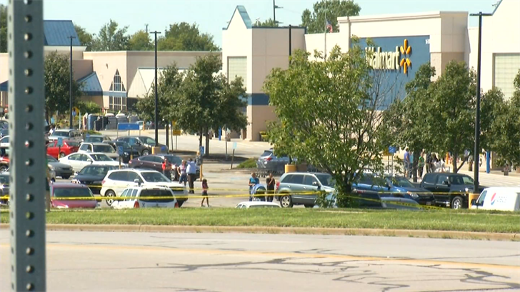 The Shawnee Walmart during a separate incident in 2016.