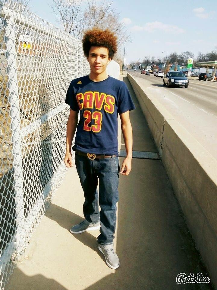 Javon Reilly, 16, was shot minutes after school ended Monday at Van Horn High School. Reilly was found collapsed on his drive-way.(Submitted)