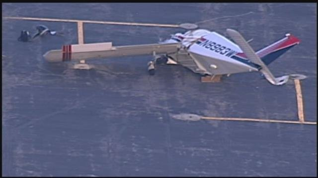 Two people are dead following an airplane crash in Lee's Summit.  (KCTV5)