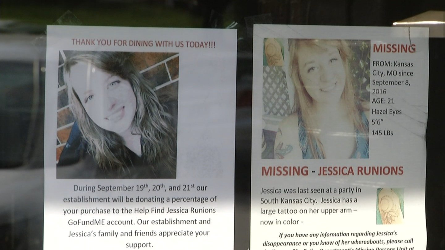 Jessica Runions' cousins are hoping someone will come forward with key information that will bring her home.(KCTV5)
