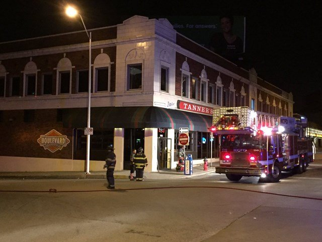 Investigators are trying to determine what sparked an overnight restaurant fire in Kansas City. (KCTV5)