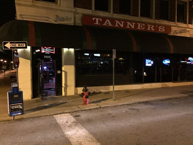 It happened at Tanner's Waldo Bar & Grill on 74th Street and East Wornall Road. (KCTV5)