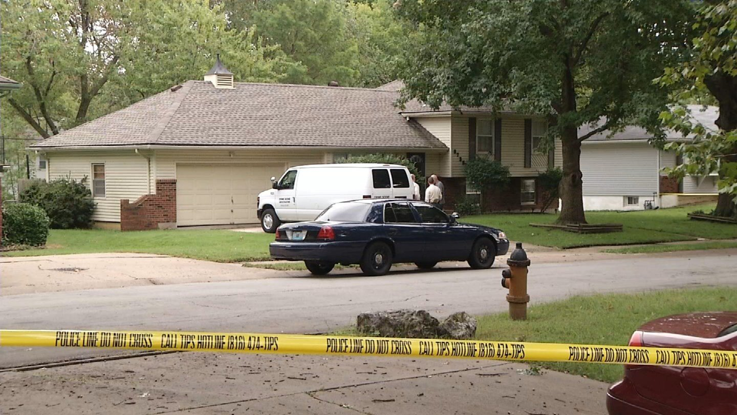 Investigators seized a blue plaid shirt, an alcohol swab with blood on it and a Q-tip with blood on it from Kylr Yust'sgrandfather's home.(KCTV5)