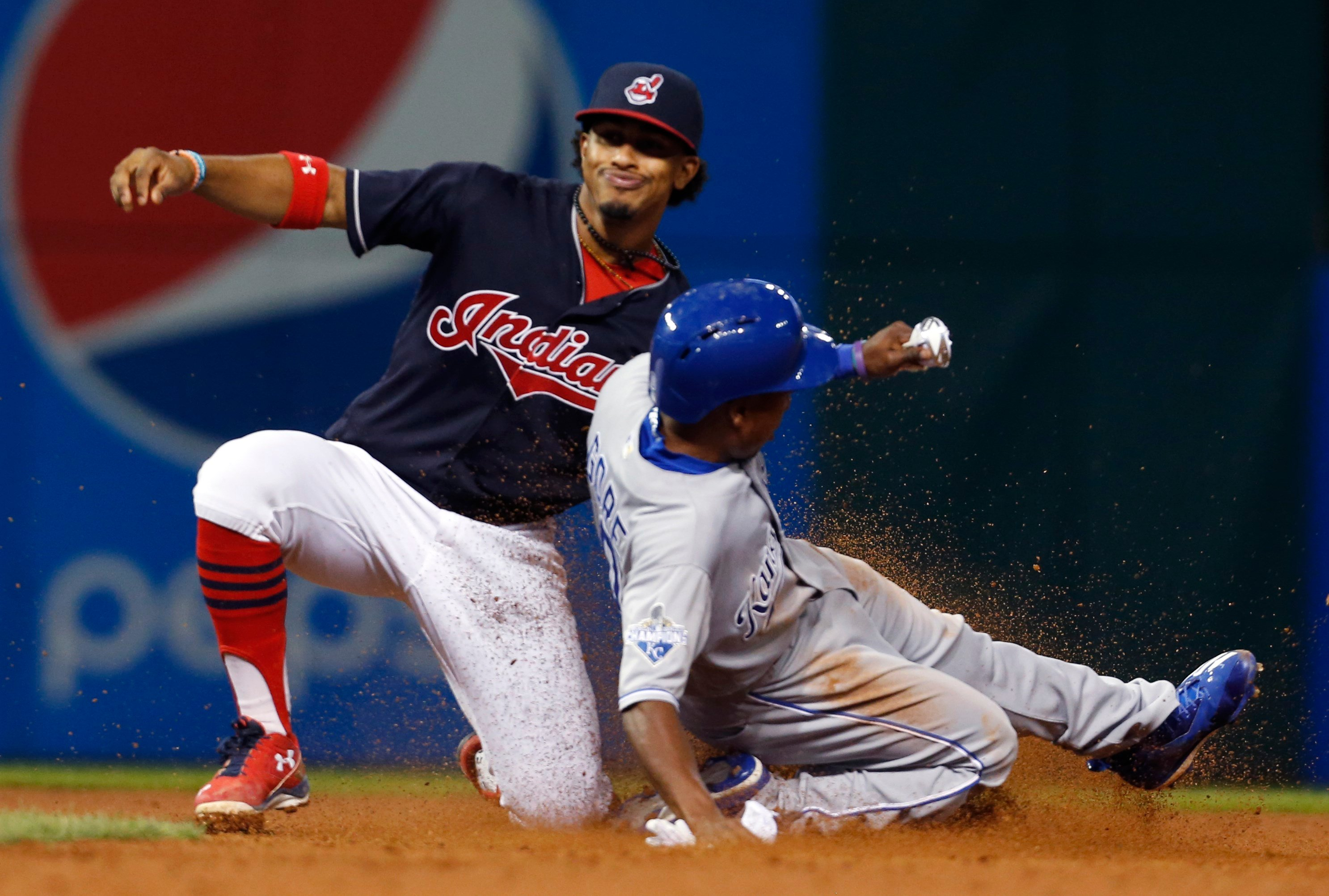 The Indians, who led Detroit by seven games in the division going into Wednesday, reduced their magic number for clinching the Central to five. (AP Photo)