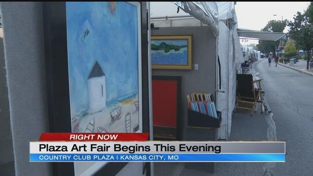 A view of some art at the Plaza Art Fair. (KCTV5)