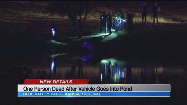 The scene at Blue Valley Park on Friday night. (KCTV5)