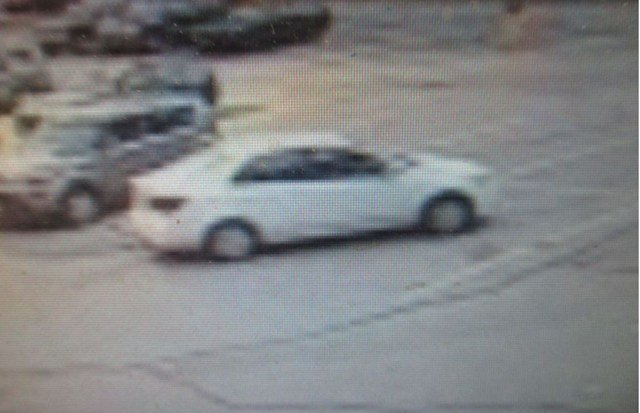 A surveillance photo of the car the man was driving. (Merriam Police)