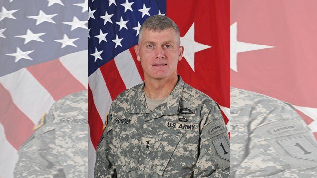 Army spokesman Col. Patrick R. Seiber says that Maj. Gen. Wayne Grigsby was relieved of command of the 1st Infantry Division due to loss of confidence in his ability to lead. (Submitted)