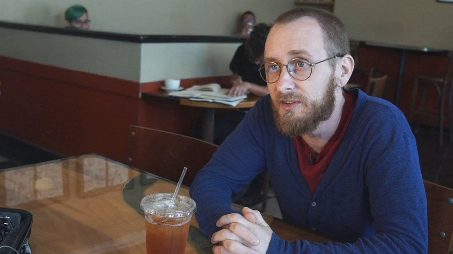 A trip to his local coffee shop is part of Ben Miller's therapy. (KCTV5)