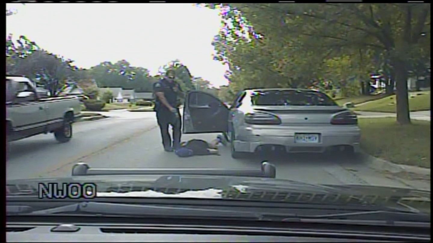 A police officer's son who was Tasered and dropped face first onto the concrete during a traffic stop is suing the former officer and the police chief. (Independence Police Department)