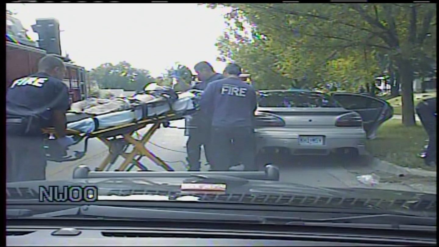 A police officer's son who was Tasered and dropped face first onto the concrete during a traffic stop is suing the former officer and the police chief.(Independence Police Department)
