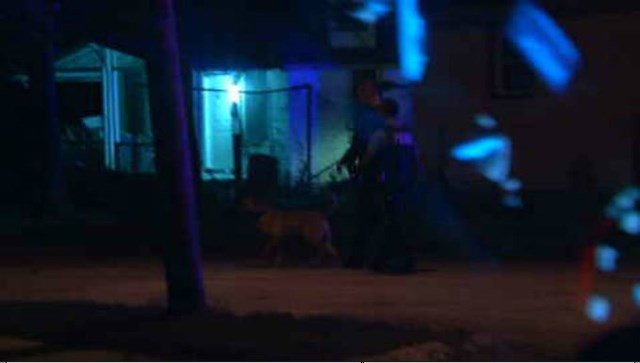 Police say they first spotted the man riding an ATV on the sidewalk near 23rd St and Poplar Avenue. (KCTV5)