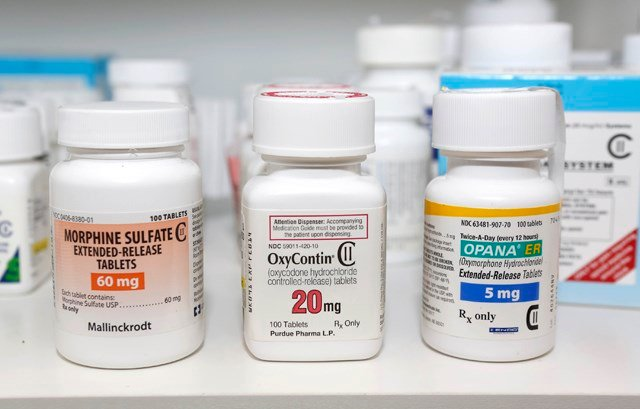 The justice department has called for law enforcement to identify links between over-prescribing doctors and distribution networks across the country. (AP)