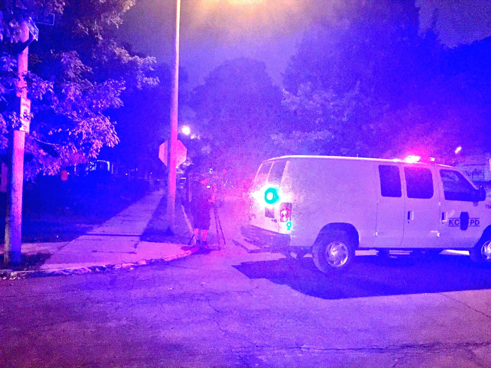 A 5-year-old was shot in the leg Tuesday night in Kansas City. (Joe Chiodo/KCTV5)