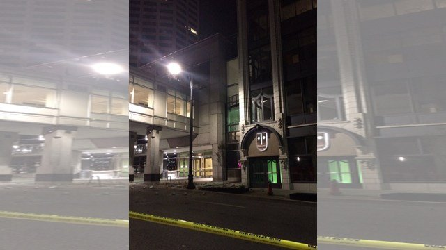 The building is the office of Andrews McMeel Universal, a publishing company. (KCTV5)