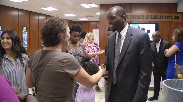 The new superintendent of Kansas City Public Schools has said getting the district fully accredited again is his top priority. (KCTV5)