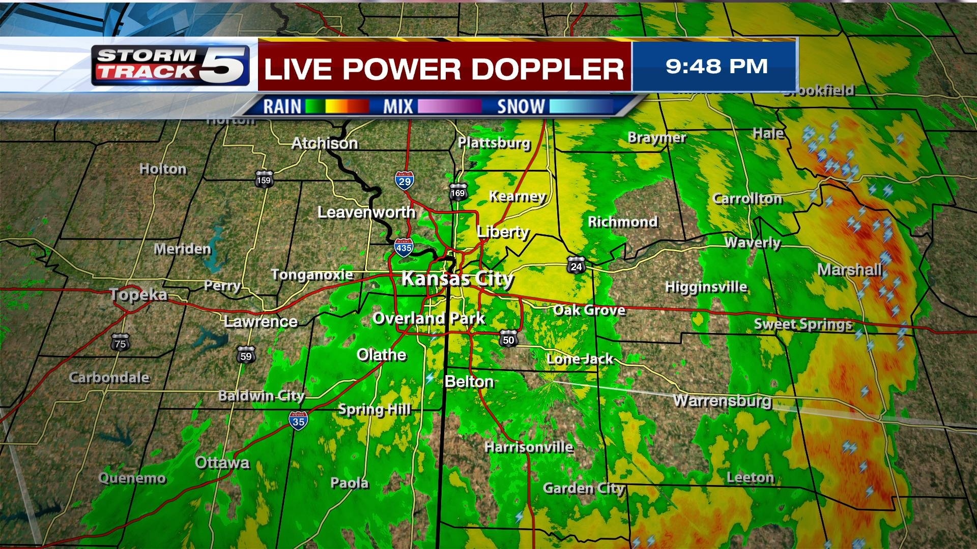 Kansas dickinson county solomon - The Threat For Severe Weather Is Now Over For Kansas City Kctv5