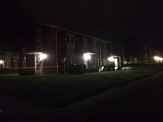 Police responded to a shooting in the 600 block of Stewart Avenue about 11:45 p.m. (Charlie Misra)
