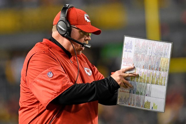 A loss in Oakland could hurt the Chiefs' playoff chances even more than just 29 percent since this is a key AFC West game. (AP)
