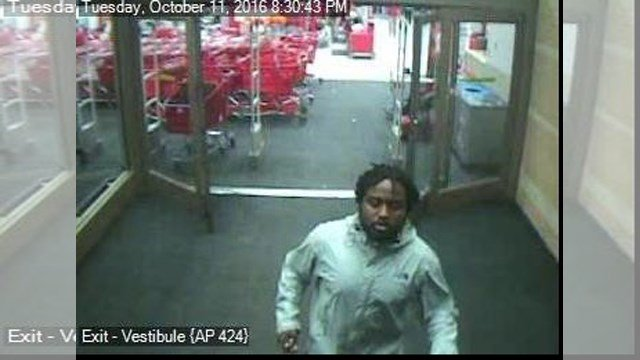 Overland Park police are looking for this man who took a woman's keys and car at an Overland Park Target store. (KCTV)