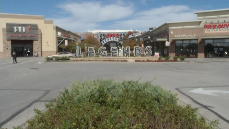 The Legends Outlets shopping center in Kansas City, Kansas. (KCTV)