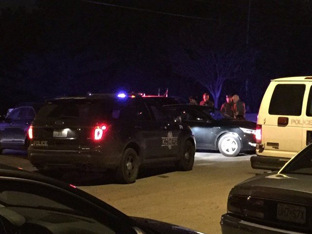 One man is in custody after a wild car chase early Friday morning. (Nate Nottage-Tacey/KCTV5)
