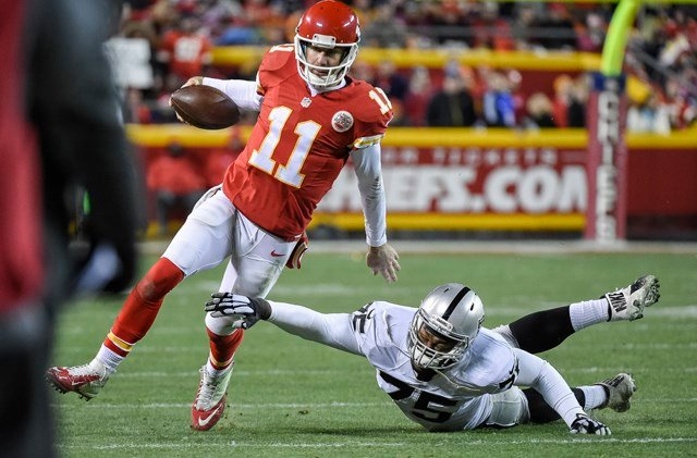Alex Smith's rushing ability was one of biggest reasons the offense improved in the second half of last season. He finished the year averaging 31 yards rushing per game. (AP)