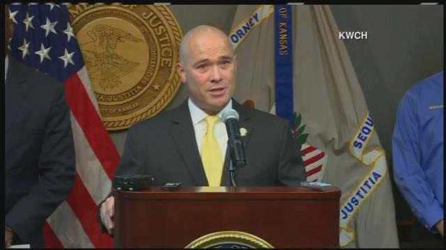 Acting U.S. Attorney Tom Beal and FBI Special Agent Eric Jackson scheduled a news conference late Friday in Wichita. (KWCH)