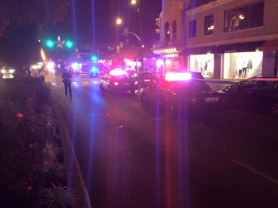 Two people were injured in a shooting at the Plaza. (Nathan Vickers/KCTV5)