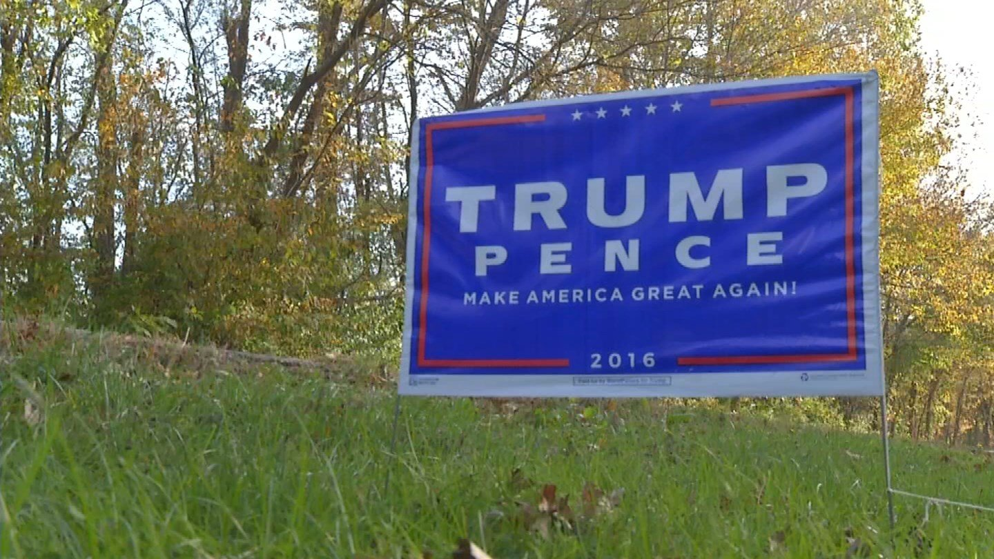 Tom Lehman says after the sign was stolen initially, he decided to install a security camera.(KCTV5)
