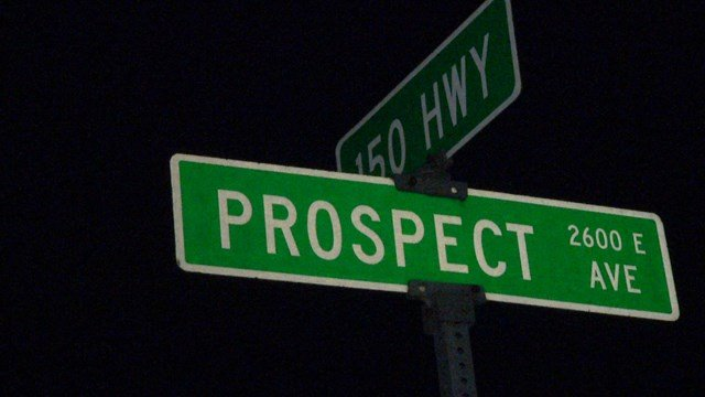 Police say two vehicles were involved in the homicide, which happened in the area of Prospect and 150 Highway.  (KCTV5)