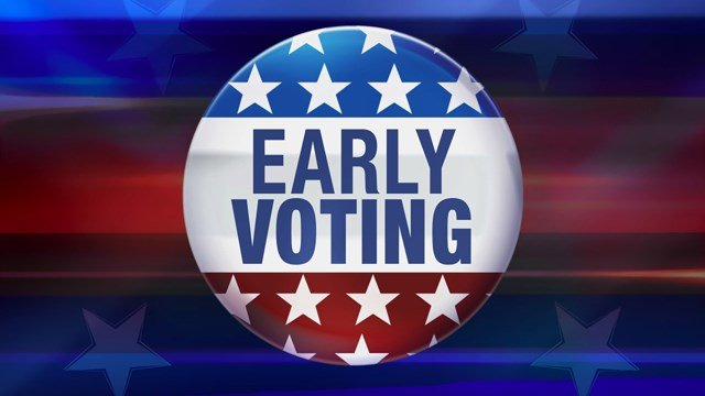 Record turnout is expected, but voting early can spare you from having to wait in line on election night. (AP)